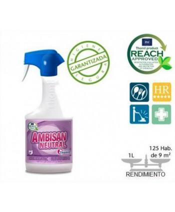 AMBIENTADOR AMBISAN NEUTRAL.  750 ml  (Pulv.)